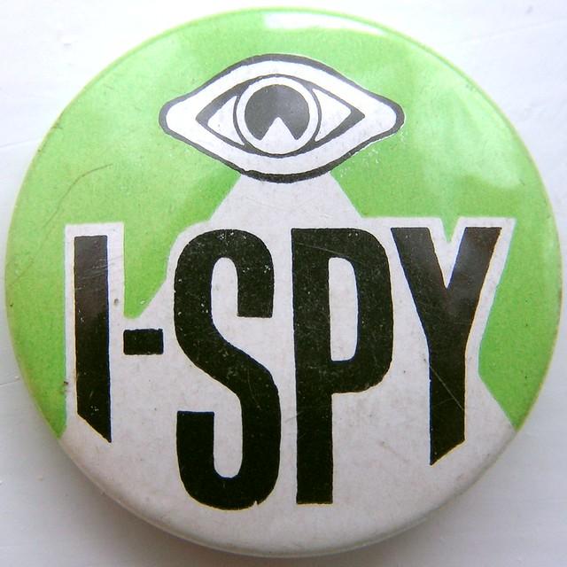 I-Spy badge