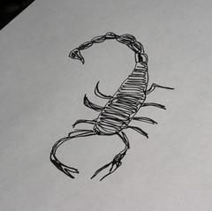 scorpion anxiety