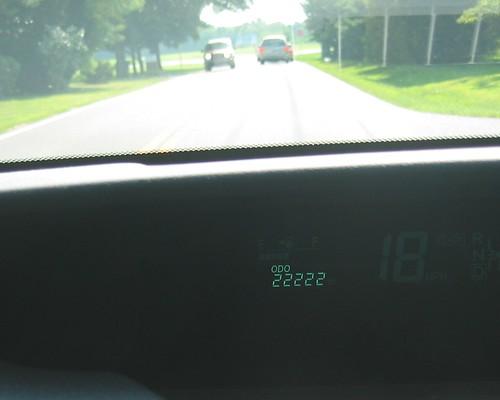 An Odometer Milestone