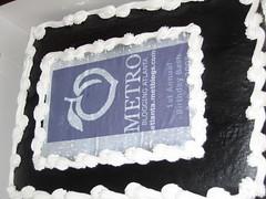 Atlanta Metroblog Birthday Cake