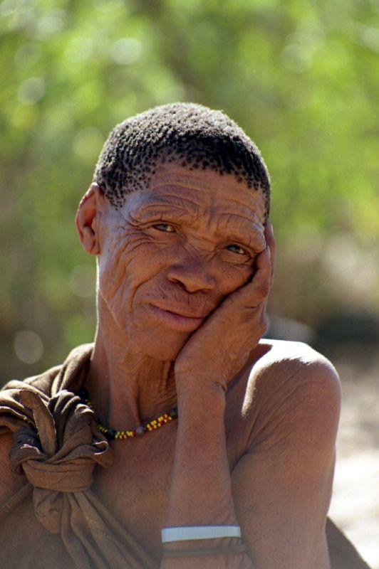 "Kalahari ""Bushmen"" Woman"