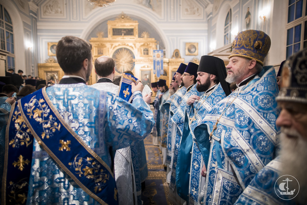 """10 December 2016, Divine Liturgy on the celebration in honor of the icon of the Mother of God """"Of the Sign"""""""