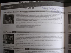 Cleopatra Wong Autograph