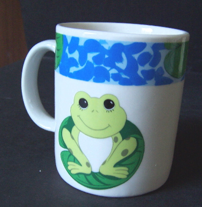 Tienshan Stoneware Collection - Frog Mugs