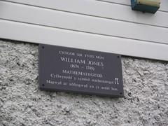 Cofeb i William Jones, Ysgol Gynradd Llanfechell