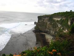 Great Sea Cliff View at the Ulu Watu Temple