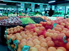 Fruit and vege market