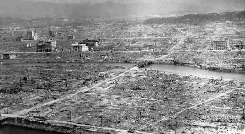 Hiroshima completely flattened