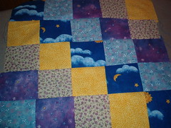 jessica's quilt in progress