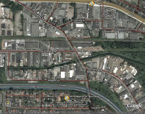 Google Earth - Vancouver