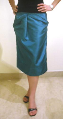 draping skirt 2