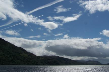 Loch Ness clouds upload