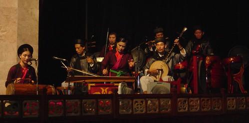 Water Puppet Musicians