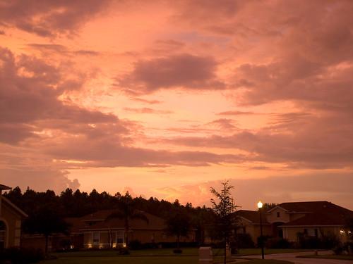 fl odessa sky cloud sunset