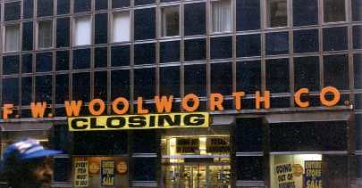I MISS WOOLWORTH STORES