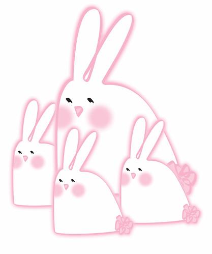 Bunny Family by Ellen