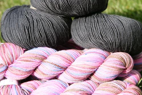 potential yarn for my shadow shawl!