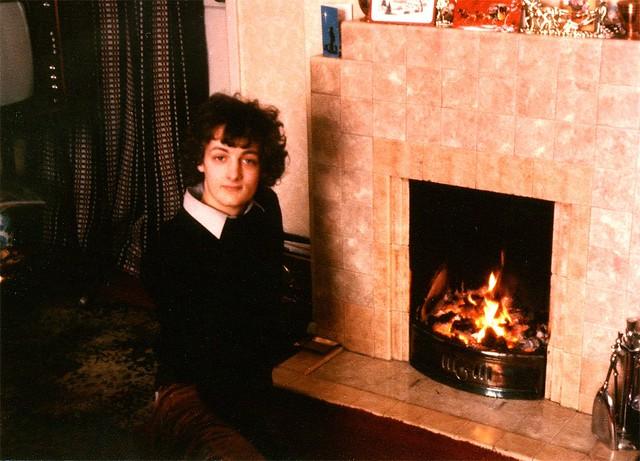 me at my grandparent's house in Dereham, Norfolk