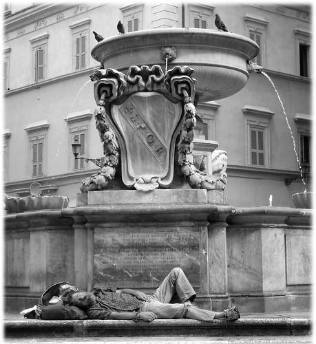 Asleep in Trastevere