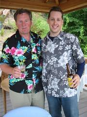 Alex & Dad -- father's day 2003
