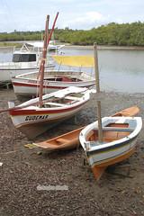 Barcos de pesca em Caixa-Prego