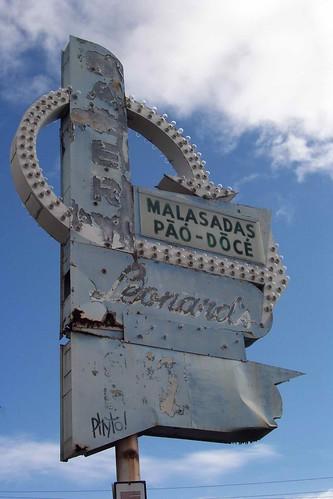 Malasados sign | by oliver regelmann