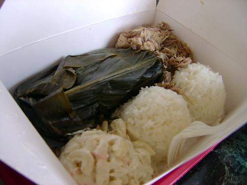 Pork Laulau and Kalua Pork