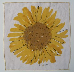 vera sunflower napkin