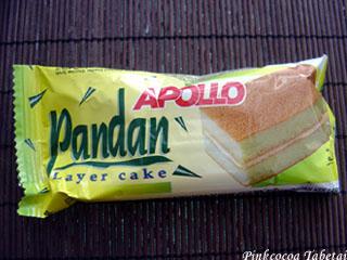 Apollo Pandan Layer Cake - Package