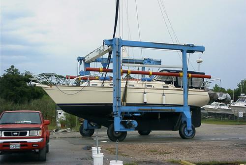 Boat-in-Lift