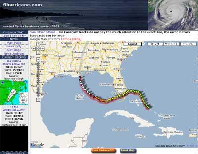 FLHurricane.com - Hurricane Katrina