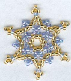 Bead Snowflake1