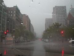 rain on copley square