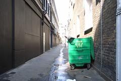 green trashbin