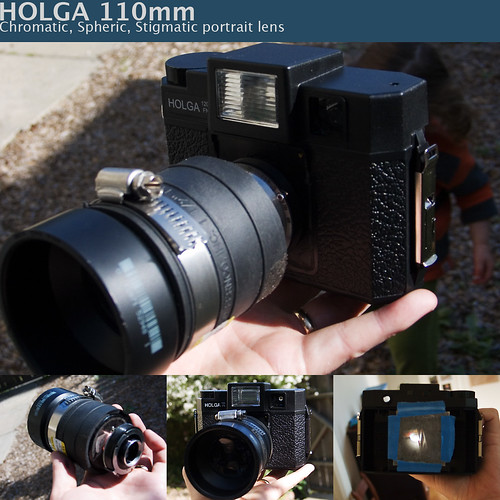 HOLGA 110mm portrait lens | by Desitins Child