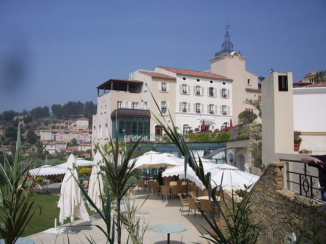 A view of the hotel Dolce Frégate