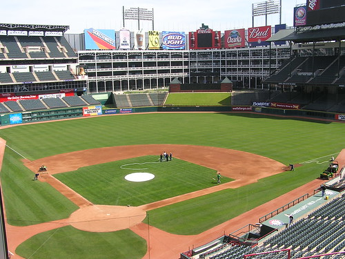 AmeriQuest Field, home of the Texas Rangers | by dherrera_96