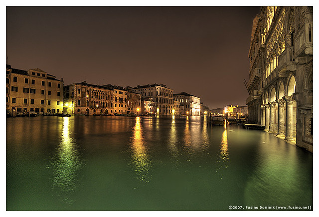 Venezia and the gran canal