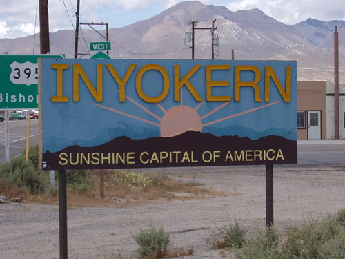 Inyokern ! Sunshine Capital of America !