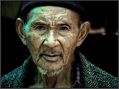 A man from vegetable market, Ravangla.   by Sukanto Debnath