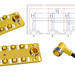 M12 Safety Distribution box Shield