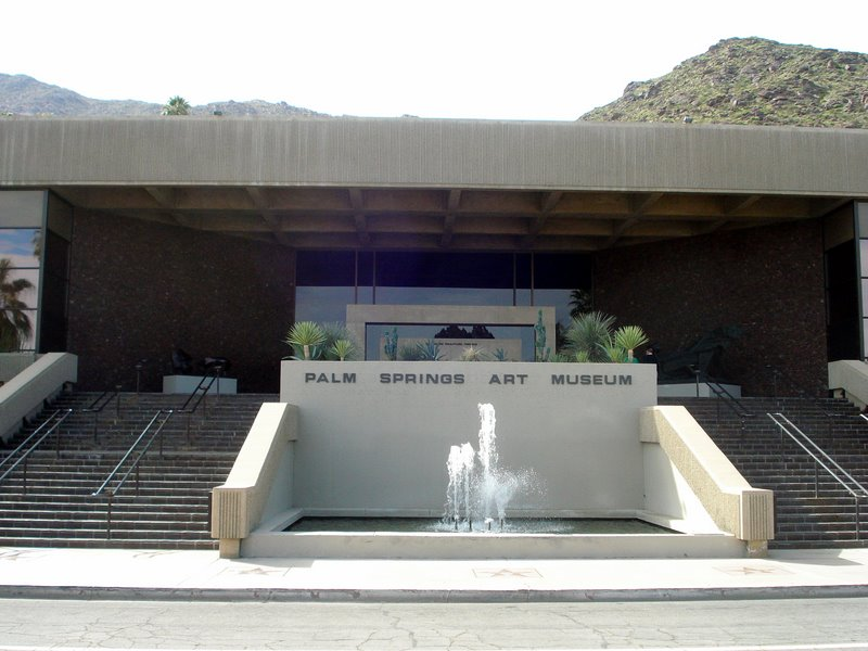 Museum Drive Street View:  Palm Springs Art Museum