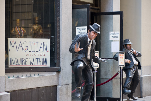 Magician Wanted, Inquire Within | by John Morton