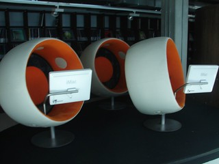 the music pods - totally awesome experience | by The Shifted Librarian