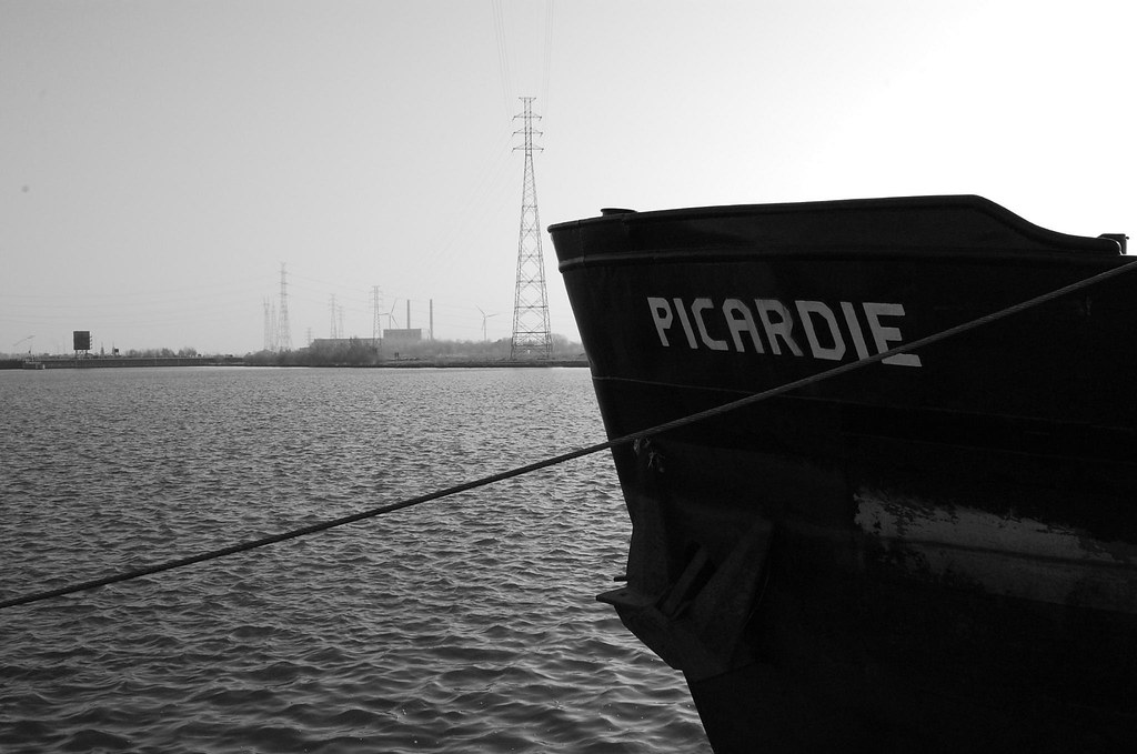 """The bow of The """"Picardie"""" by My name's axel"""