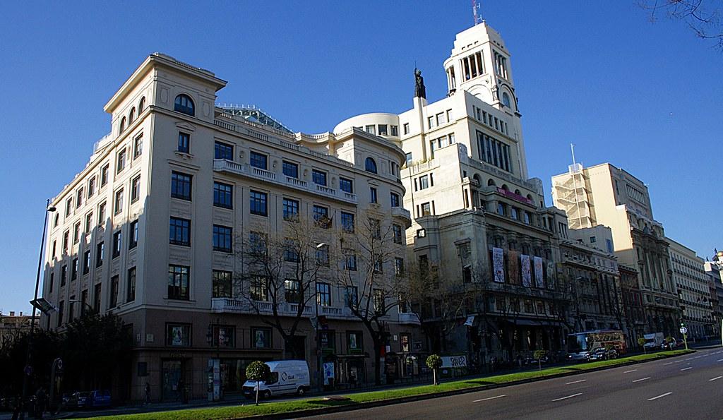 Palacio Del Marqués De Casa Riera Y Círculo Bellas Artes Flickr