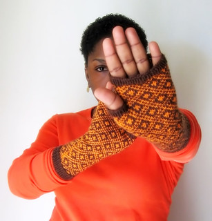 Endpaper Mitts | by Peacock Chic is FAB.U.LOUS!
