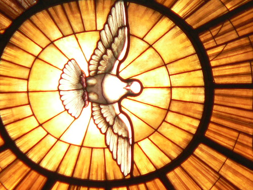 Image of the Holy Spirit in the Vatican