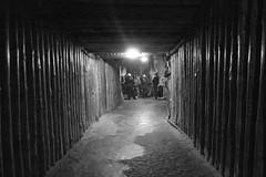 tunnel in Wieliczka salt mine