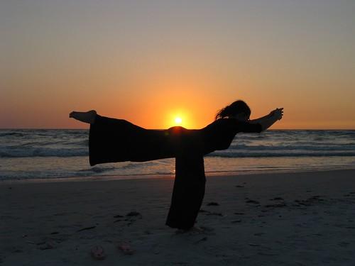 Sunset Yoga | by Andrew Kalat